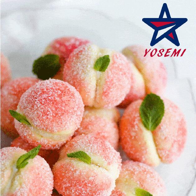 Sweet Ricotta Peach Cookie<br/>甜乳清乾酪桃子曲奇餅 1